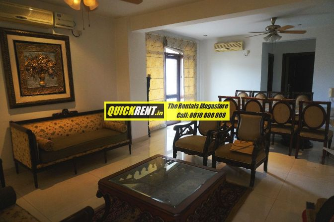 Furnished Apartment for Rent on Golf Course Road