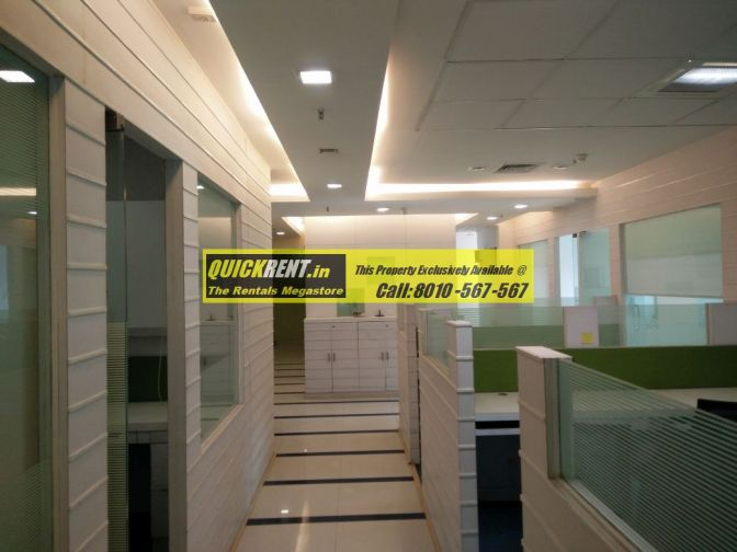 Furnished office space on MG Road