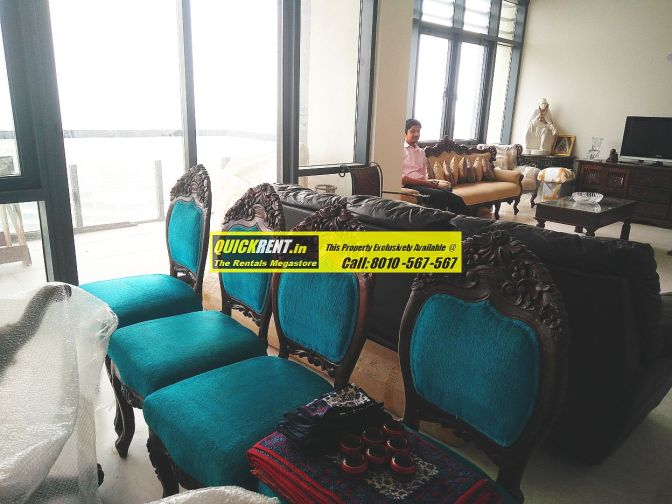 4 BHK Furnished Apartment for rent in Grand Arch