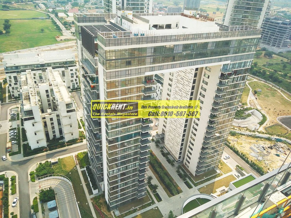 Grand Foyer Mall Gurgaon : Rent ireo grand arch luxury apartments for