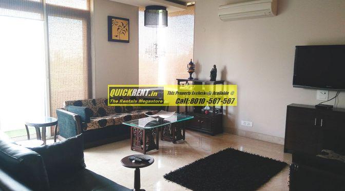 Furnished Apartment for Rent in Defence Colony