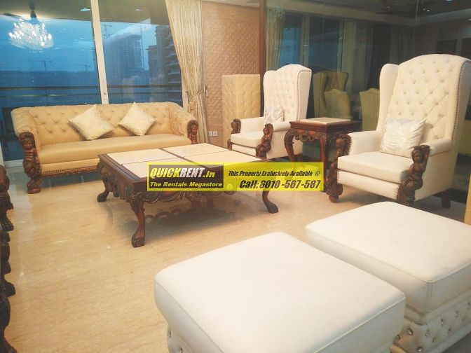 Furnished Apartment in DLF Magnolias
