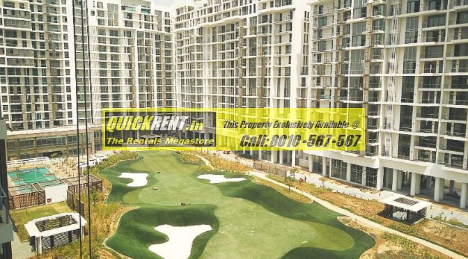 Now Renting – M3M Golf Estate