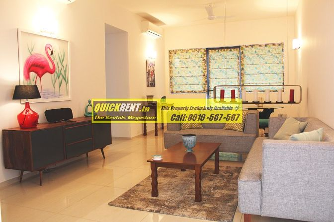 Tastefully Furnished 2 BHK