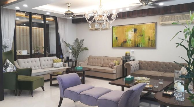 Furnished Apartment For Rent in DLF Pinnacle